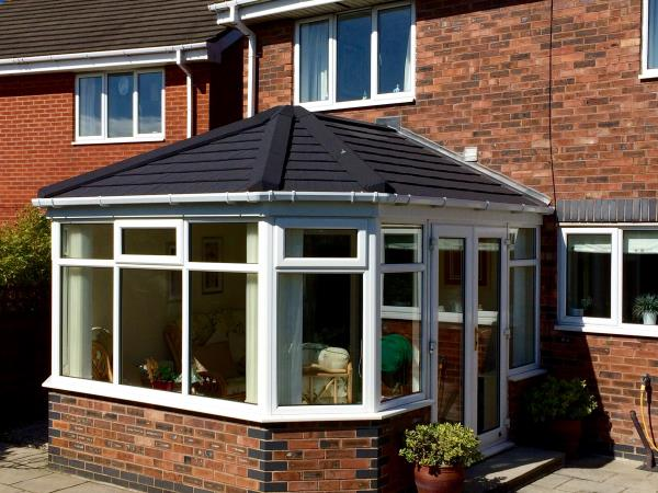 Apex conservatory roof conversion for Cleveleys customer